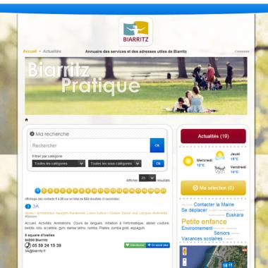 Biarritz-Pratique