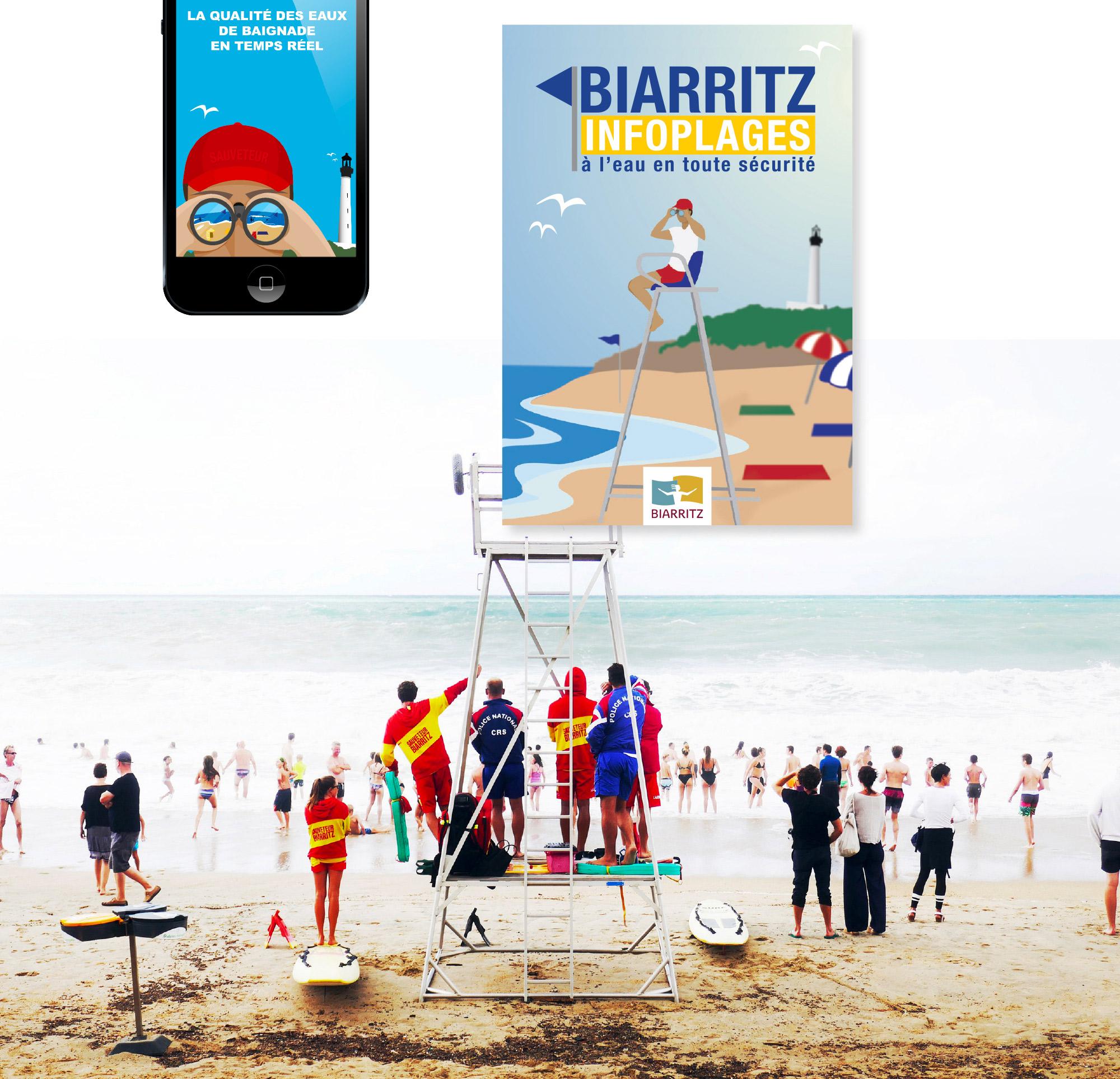 biarritz guide des plages