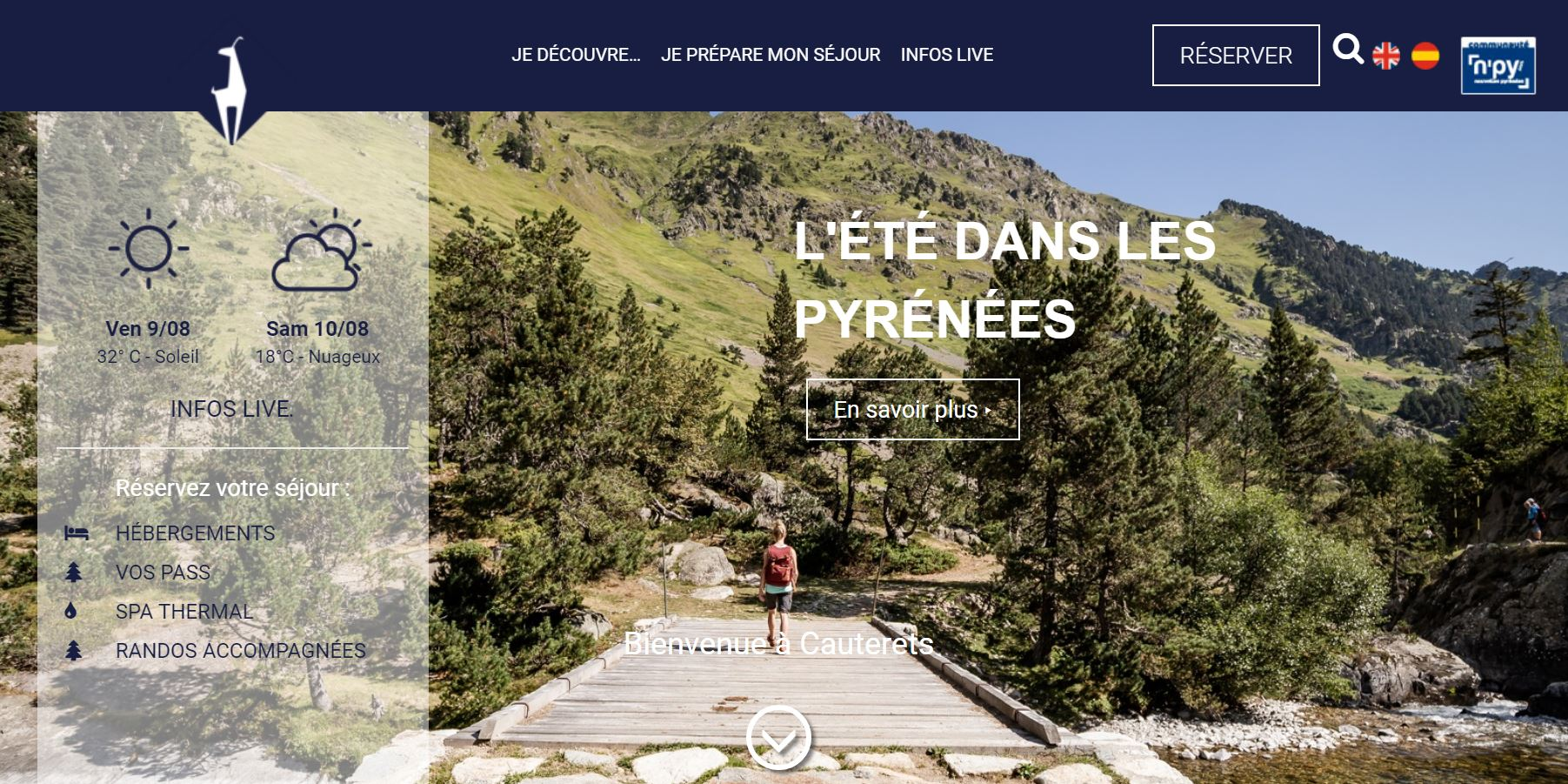 site internet cauterets