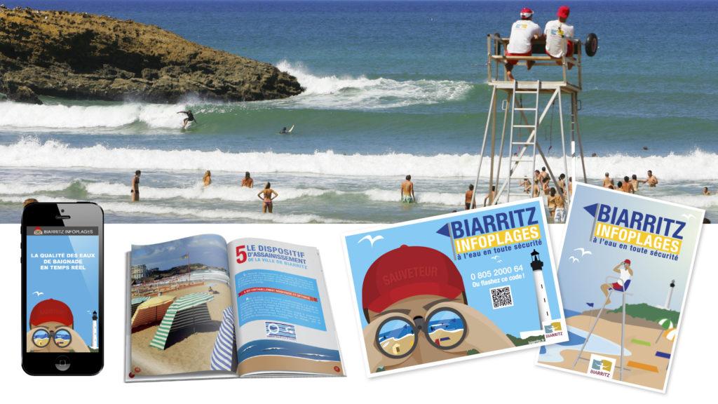 Biarritz infos plages, guide des plages destiné aux résidents et aux visiteurs.