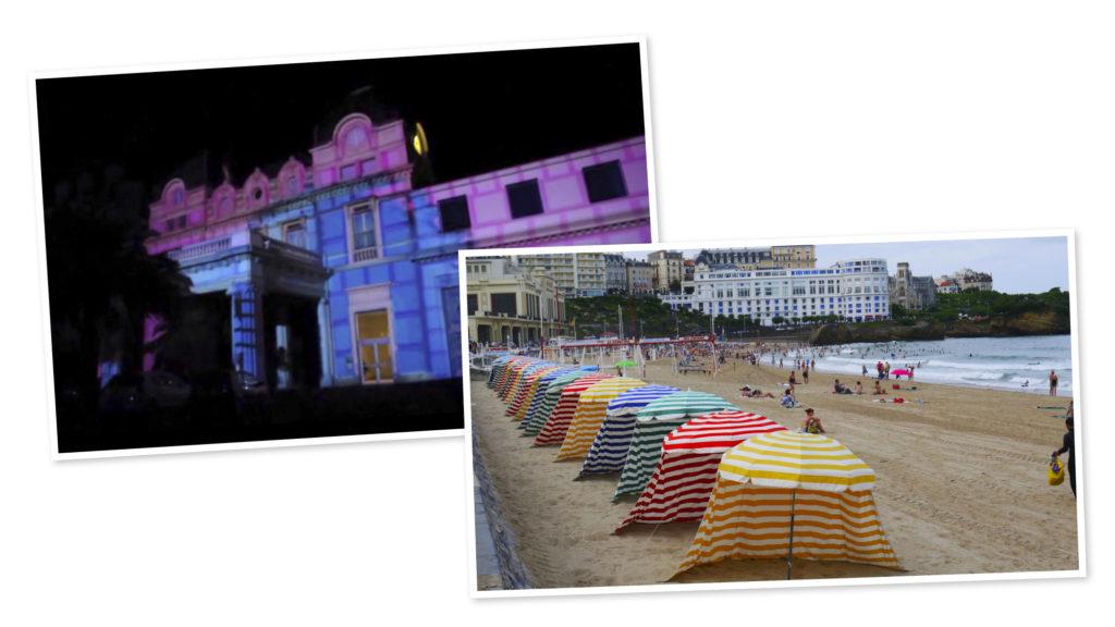Biarritz en Lumières pour le spectacle des fêtes de fin d'année