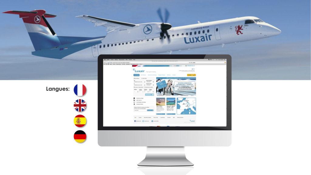 La compagnie Luxair