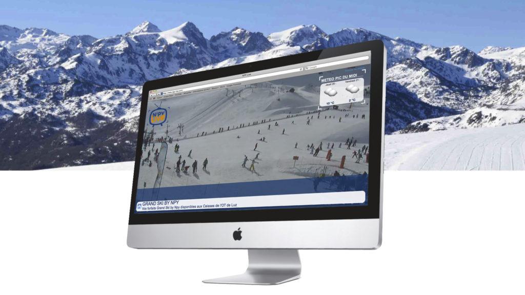 Npy-live.com est une chaîne interactive qui diffuse en continu un programme vidéo éditable ainsi que des flux d'information.