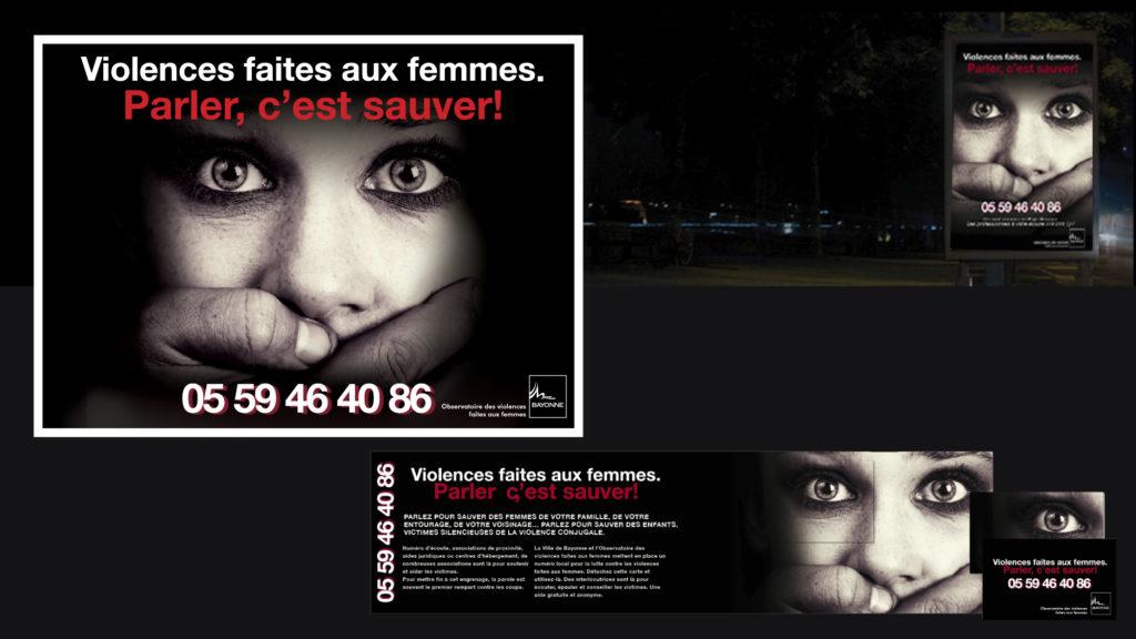 Bayonne - Violence faites aux femmes