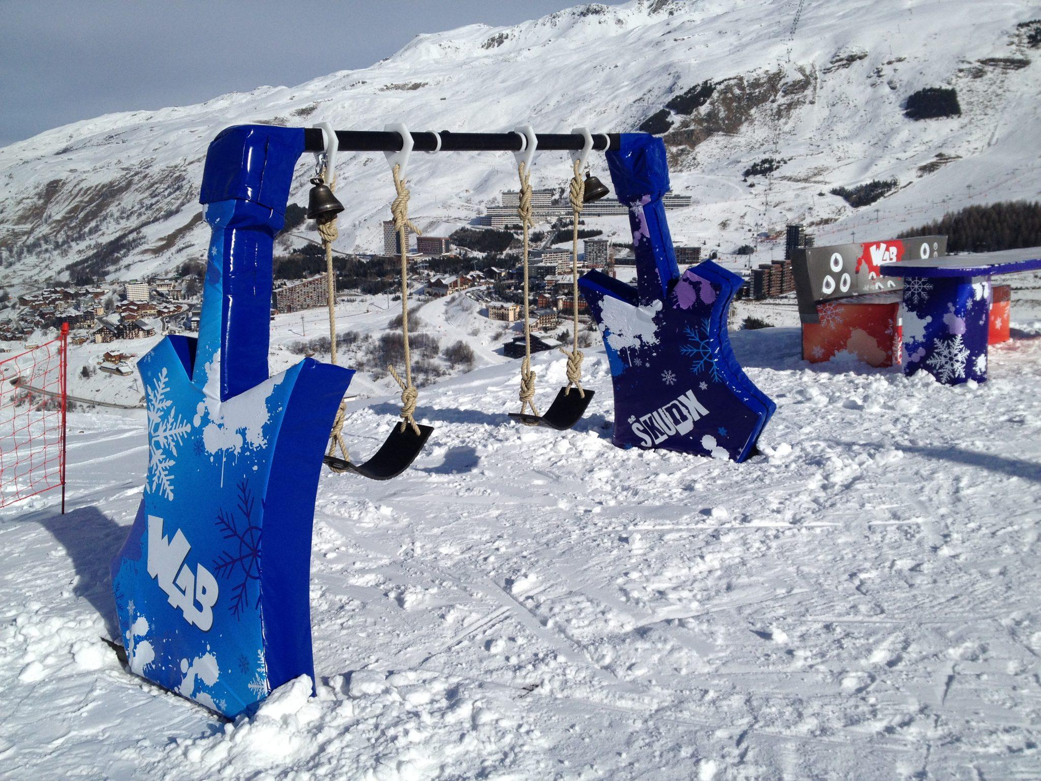 Station de ski les menuieres