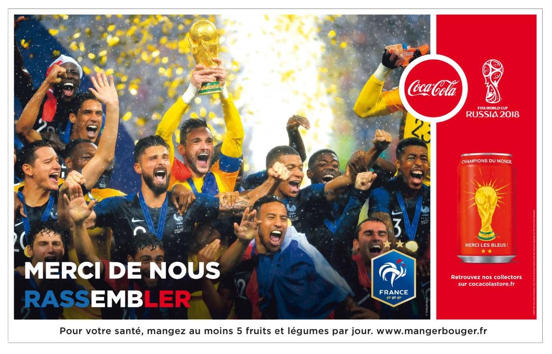 coca-cola-publicité-victoire-Equipe-de-france-coupe-du-monde-2018-collector-canettes