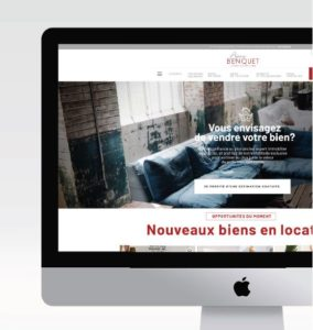 site internet agence benquet biarritz